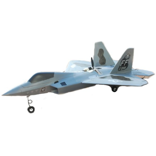 아재몰 드론 RC비행기 F22 720mm Wingspan EPO Back Pusher Ducted Motor Dual Power Switchable RC Airplane KIT