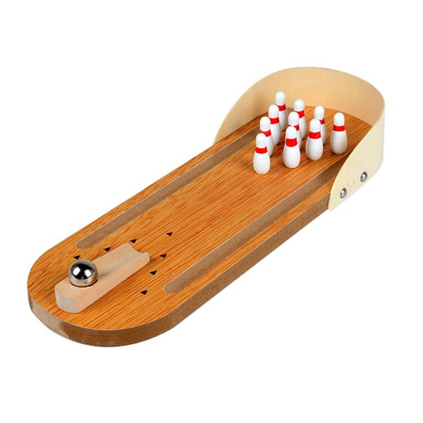 아재몰 퍼즐 게임 교육용 장난감 Mini Indoor Desktop Game Wooden Bowling Table Play Games Party Fun Kids Toys Board Games