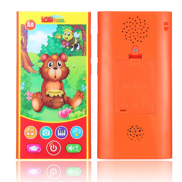 아재몰 퍼즐 게임 교육용 장난감 MoFun 2601B Multi-Function Charging Mobile Phone 14.5CM Early Education Toys