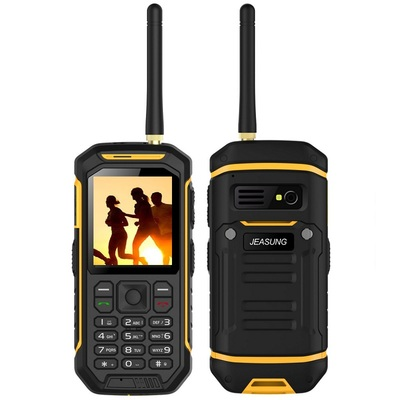 아재몰 해외직배송 피처폰_JEASUNG X6 IP68 2.4 Inch 2500mAh UHF Walkie Talkie Torch Bluetooth Dual SIM Rugged Waterproof Phone