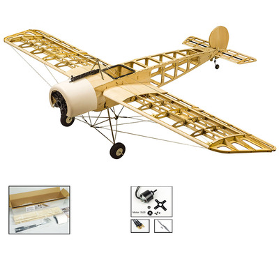 아재몰 RC비행기_Fokker E.III Wingspan 1520mm Eindecker WW1 Fighter Laser Cut Balsa RC Airplane Kit