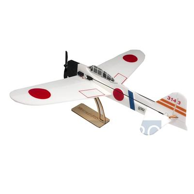 아재몰 RC비행기_MinimumRC A6M2 Zero Backyard Fighter Series 360mm Wingspan Warbird RC Airplane KIT+Motor/PNP