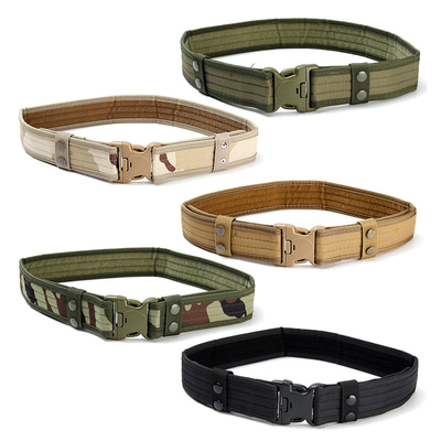 아재몰 해외직배송_밀리터리_벨트_130CM Mens Military Army Tactical Belt Swat Combat Hunting Outdoor Sports Belt