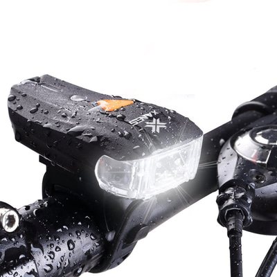 아재몰_(1142083)_자전거 전조등 조명_XANES 600LM XPG + 2 LED Bicycle German Standard Smart Sensor Warning Light Bike Front Light Headlight