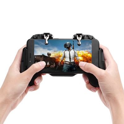 아재몰_(1441091)_스마트폰 게임 조이스틱_H5 Gamepad Joystick Game Controller USB Built-in Cooling Fan for PUBG Rules of Survival Mobile Game Fire Trigger for Phone
