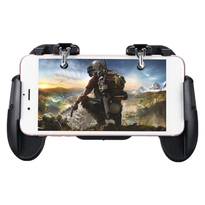 아재몰_(1446319)_스마트폰 게임 조이스틱_Fire Trigger Shooters Button Controller Gamepad Phone Stretchable Bracket for PUBG Mobile Game
