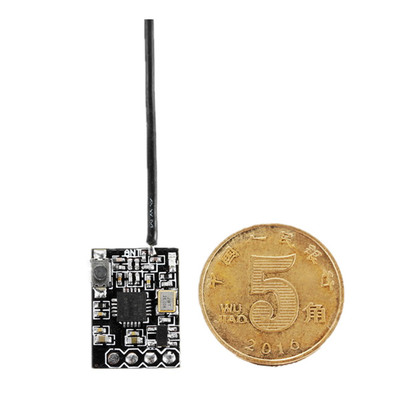 아재몰_RC 조종기 부품_8CH Micro Compatible FPV Receiver with SBUS PPM Output Binding Button for FRSKY Transmitter RC Drone
