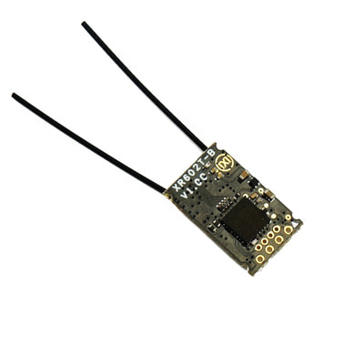 아재몰_RC 조종기 부품_URUAV XR602T-B3 16CH SBUS Mini Receiver Support Telemetry RSSI Compatible Frsky D16