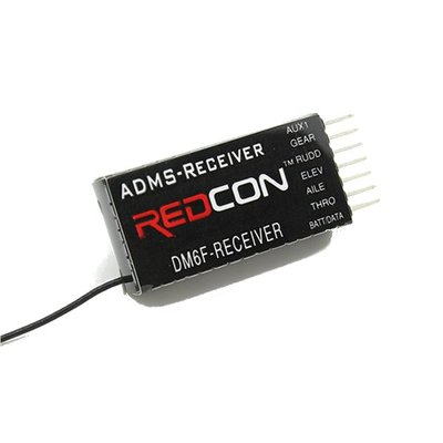 아재몰_RC 조종기 부품_DM6F 2.4G 6CH DMSS Parkflyer Receiver For JR XG6 XG7 XG8 XG11 Transmitter