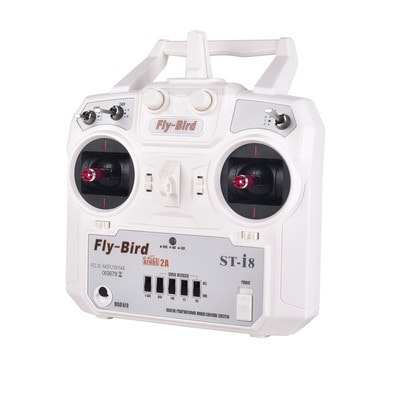 아재몰_RC 조종기 부품_FlyBird ST-i8 8CH 2.4G Transmitter Support PPM Output Compatible AFHDS 2A with Receiver for RC Drone