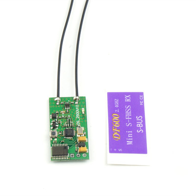아재몰_RC 조종기 부품_2g DF600 2.4G SBUS Mini Receiver Compatible All Futaba S-FHSS Radio Transmitter 1000M Available