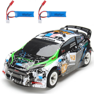 아재몰 (1677315) Wltoys RC카 레이싱카 스포츠카_Wltoys K989 with 2 Batteries 1/28 2.4G 4WD Brushed RC Car Alloy Chassis Vehicles RTR Model