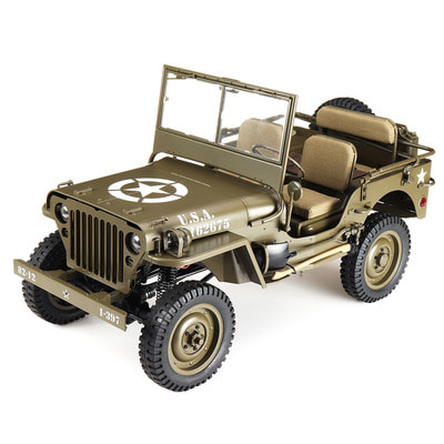 아재몰 (1677462) RC카 레이싱카 스포츠카_ROCHOBBY 1/6 2.4G 2CH 1941 MB SCALER RC Car Waterproof Vehicle Models Fully Proportional Control Without Transmitter Receiver