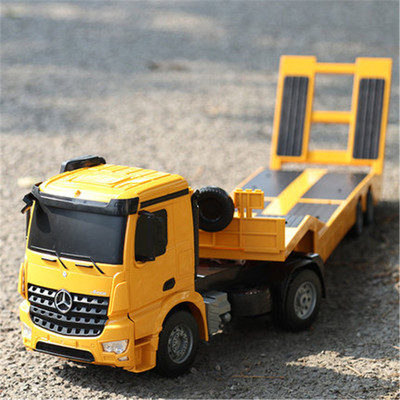 아재몰 (1677426) RC카 레이싱카 스포츠카_Double Eagle E562-003 1/20 2.4G RC Trailer Tow Truck Enginnering Construction Model