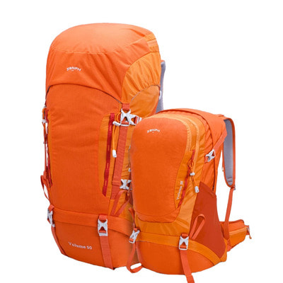아재몰_(1390814)_캠핑 여행 가방_ZENPH HC 38L/60L Outdoor Mountaineering Backpack Waterproof 420D Nylon Climbing Bag Camping Hiking from xiaomi youpin